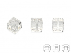 Cube bead 6 x 6 mm [1szt.]